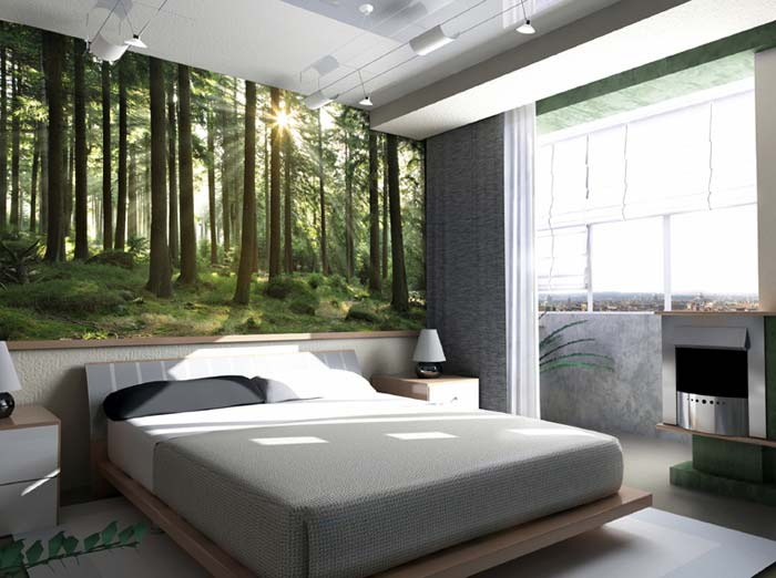 Fototapeta do sypialni jaka tapeta do sypialni tapeta do salonu - Foto chambre a coucher ...
