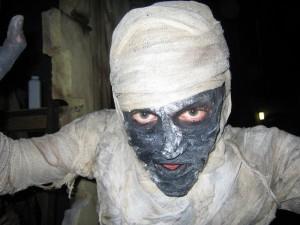 strój mumii